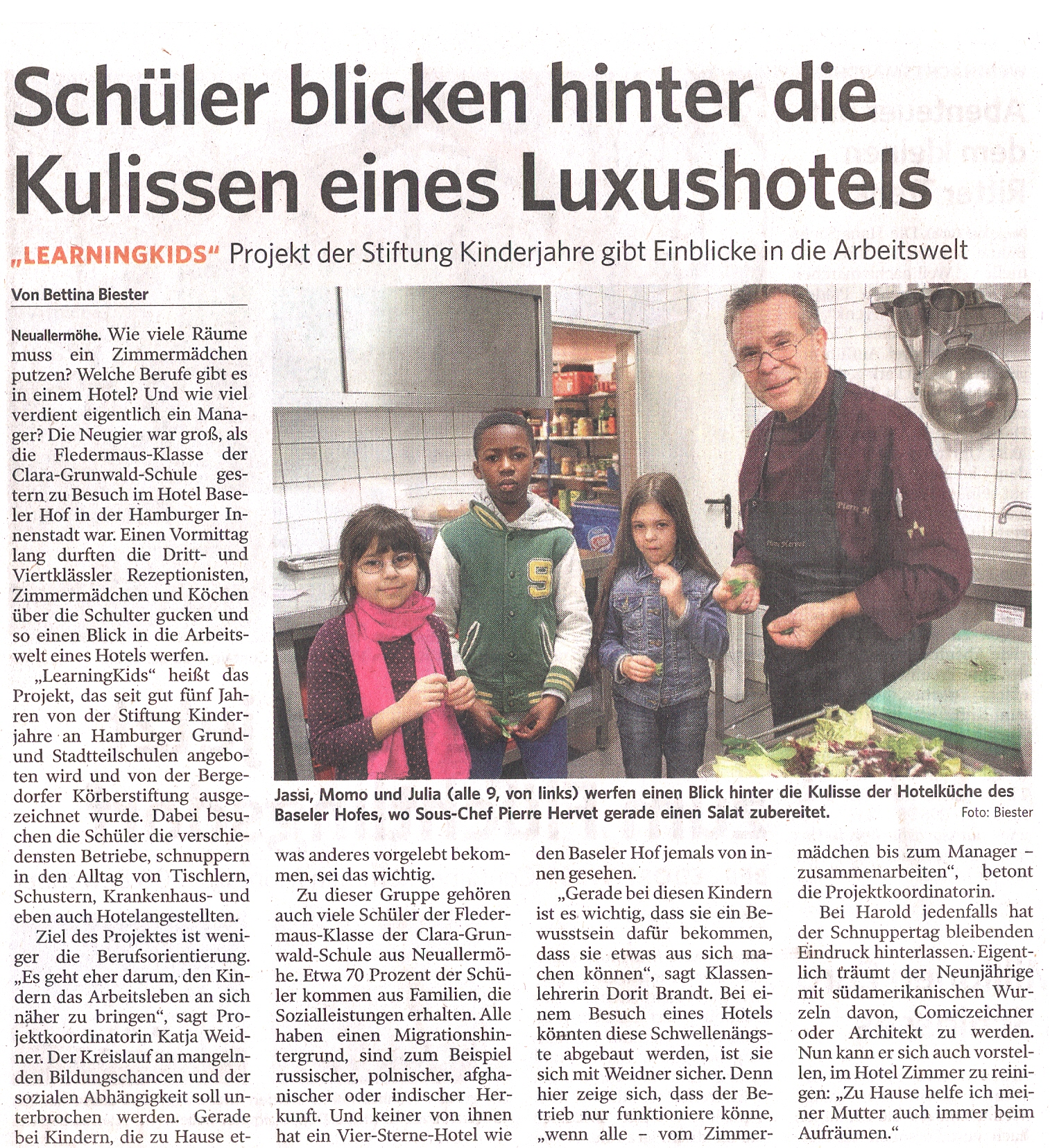 Zeitung LearningKids